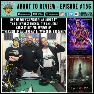 About to Review – Weekly movie review podcast with a goal to